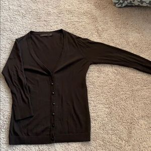 Limited chocolate brown cardigan